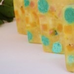 Pastel Colors Olive and Aloe Vera Hand Made Soap (320x216)